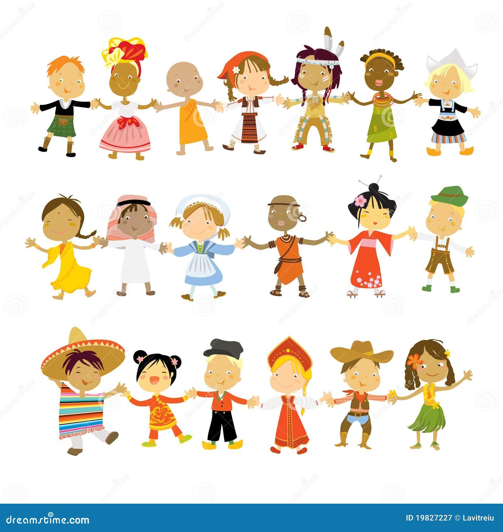 Célèbre Enfants du monde illustration de vecteur. Image du fille - 19827227 QG63