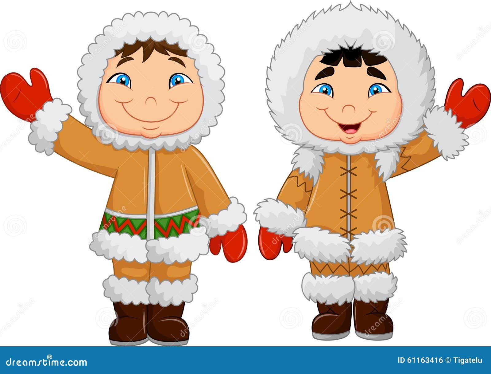 Enfants Esquimaux Heur...