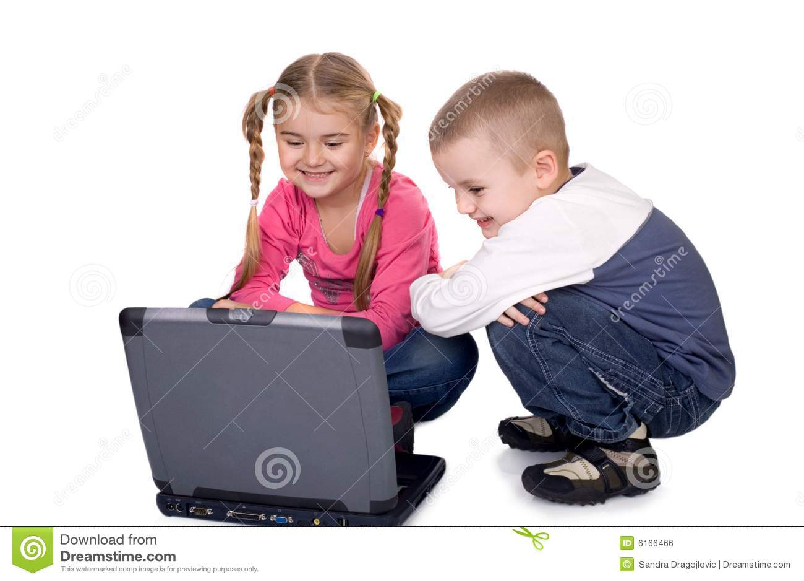 Enfants et ordinateur