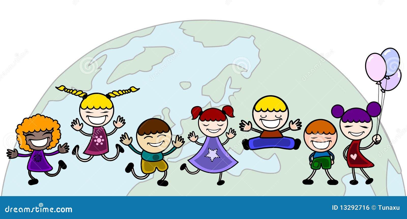 http://thumbs.dreamstime.com/z/enfants-heureux-avec-le-monde-13292716.jpg