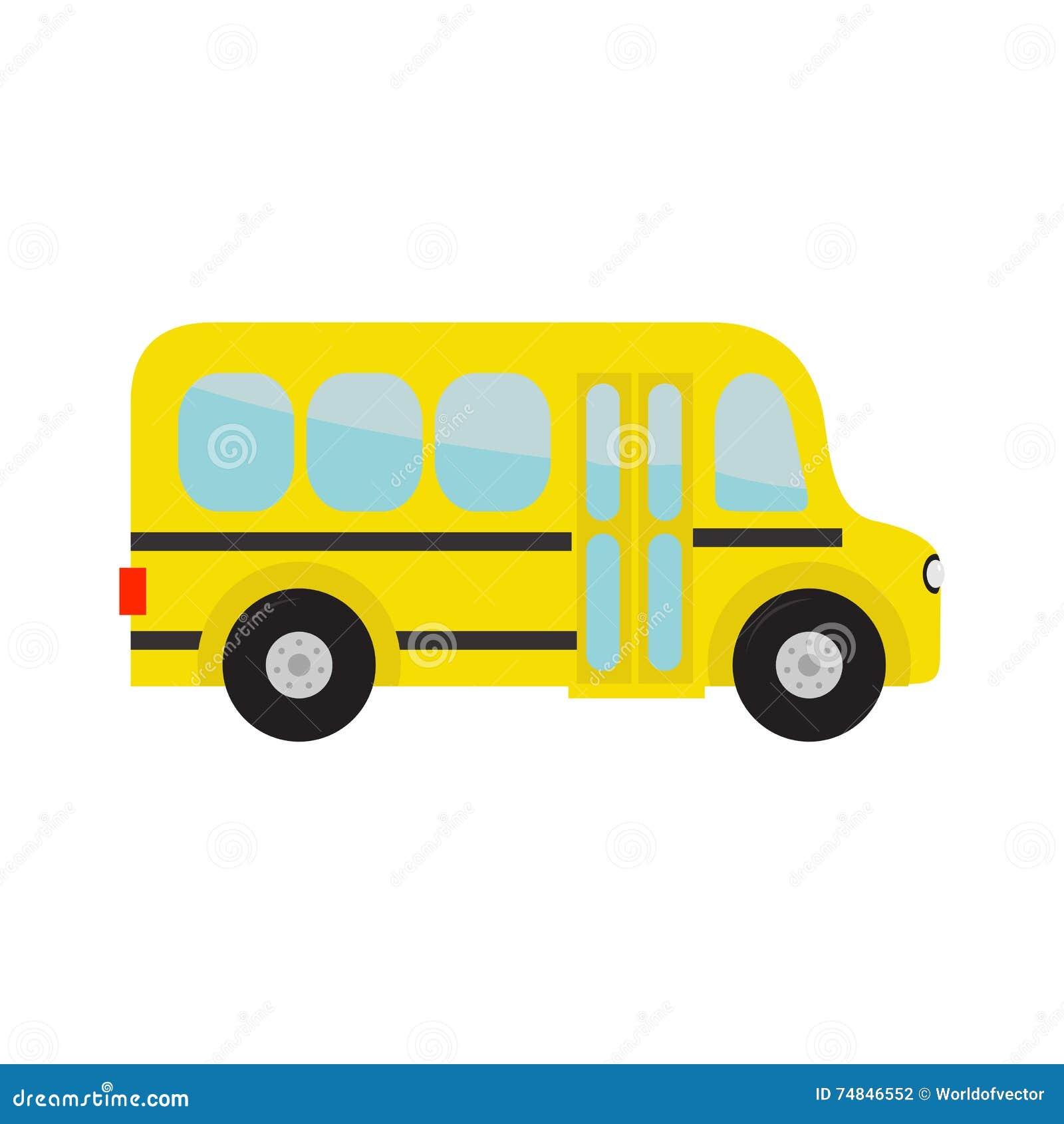 Enfants jaunes d 39 autobus scolaire clipart de bande - Autobus scolaire dessin ...