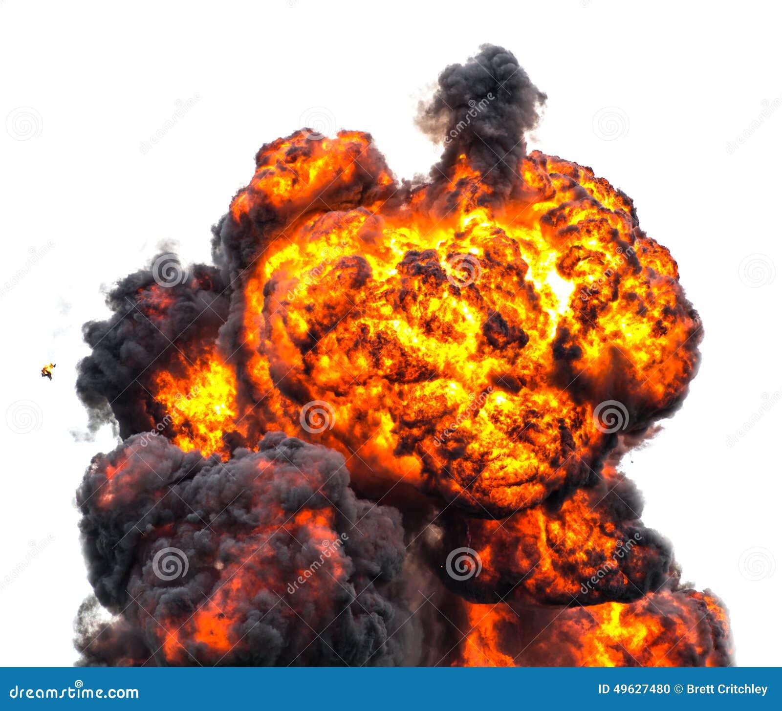 Enfer de champignon atomique d aérolithe