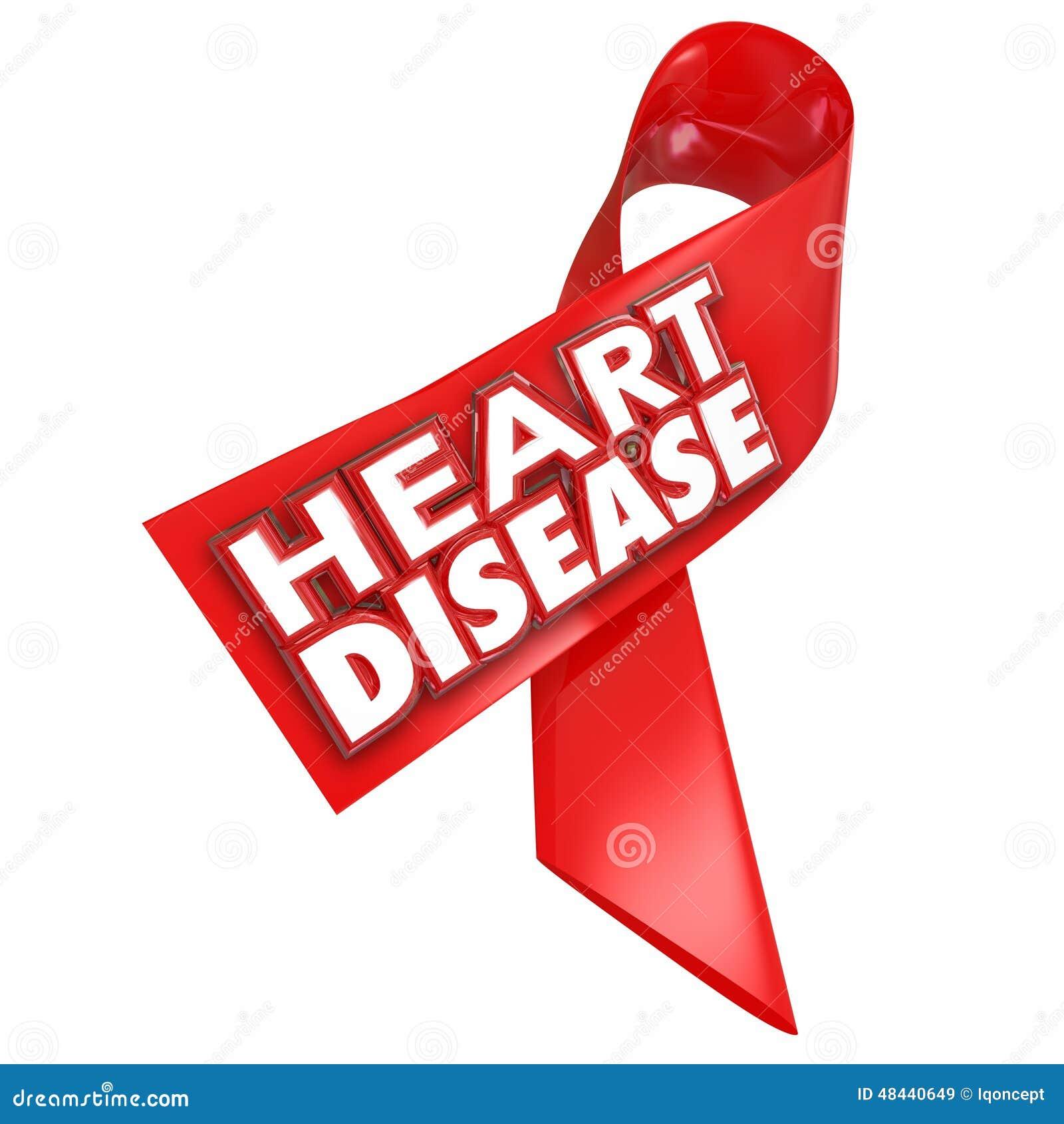 Enfermedad coronaria de la condición de la curación de la cinta de la conciencia de la enfermedad cardíaca