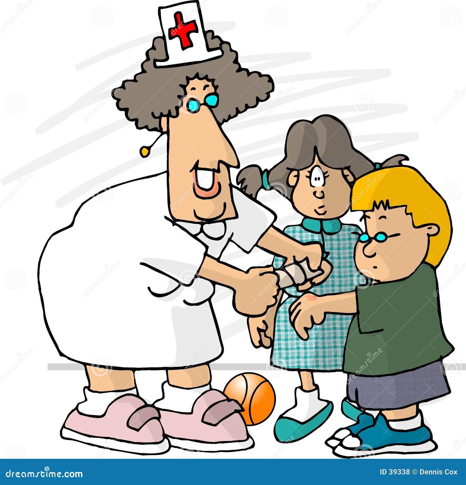 Enfermeira da escola