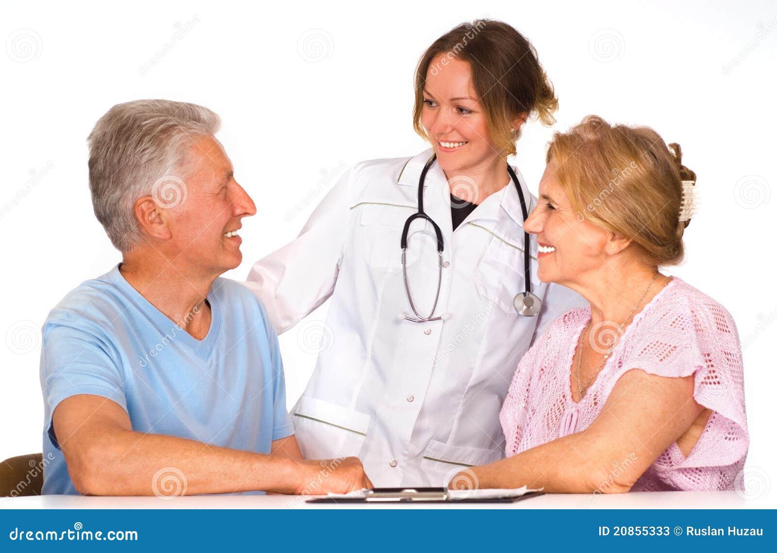 bonito enfermera