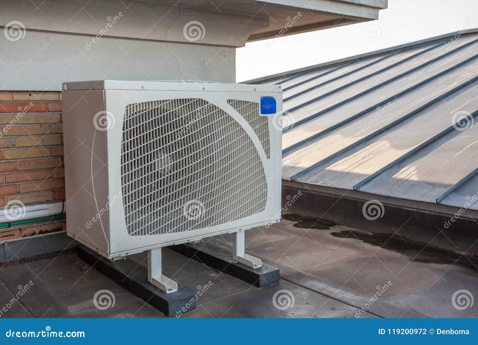 Enfriamiento en un tejado plano
