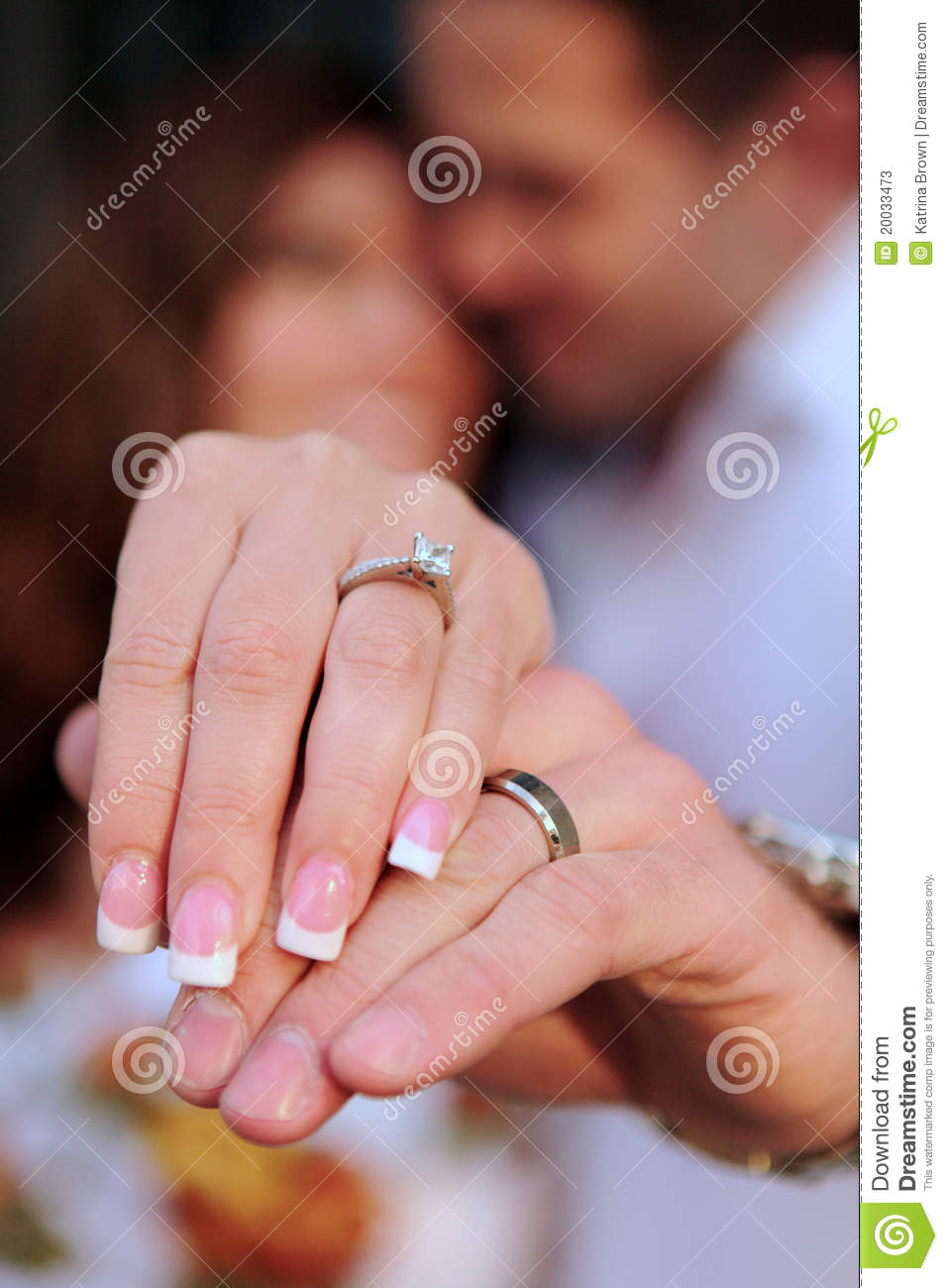 engaged couple