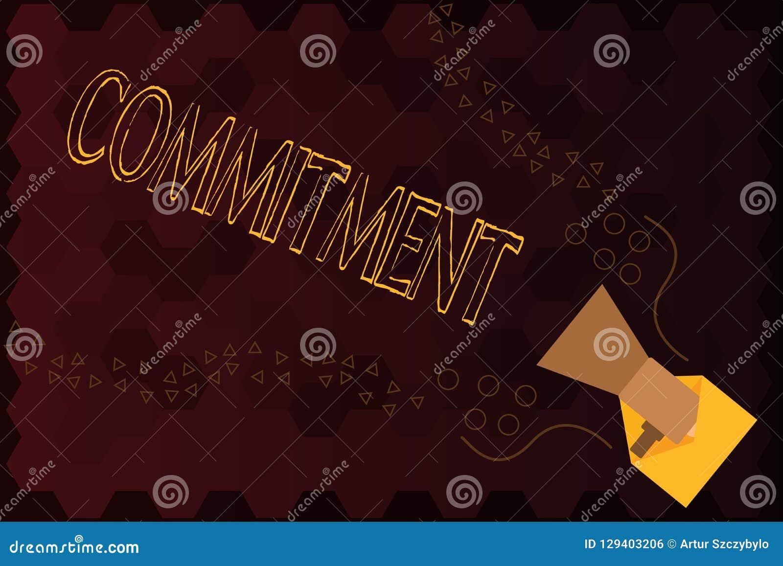 Engagement des textes d écriture Concept signifiant la qualité d être consacré causer l engagement d activité