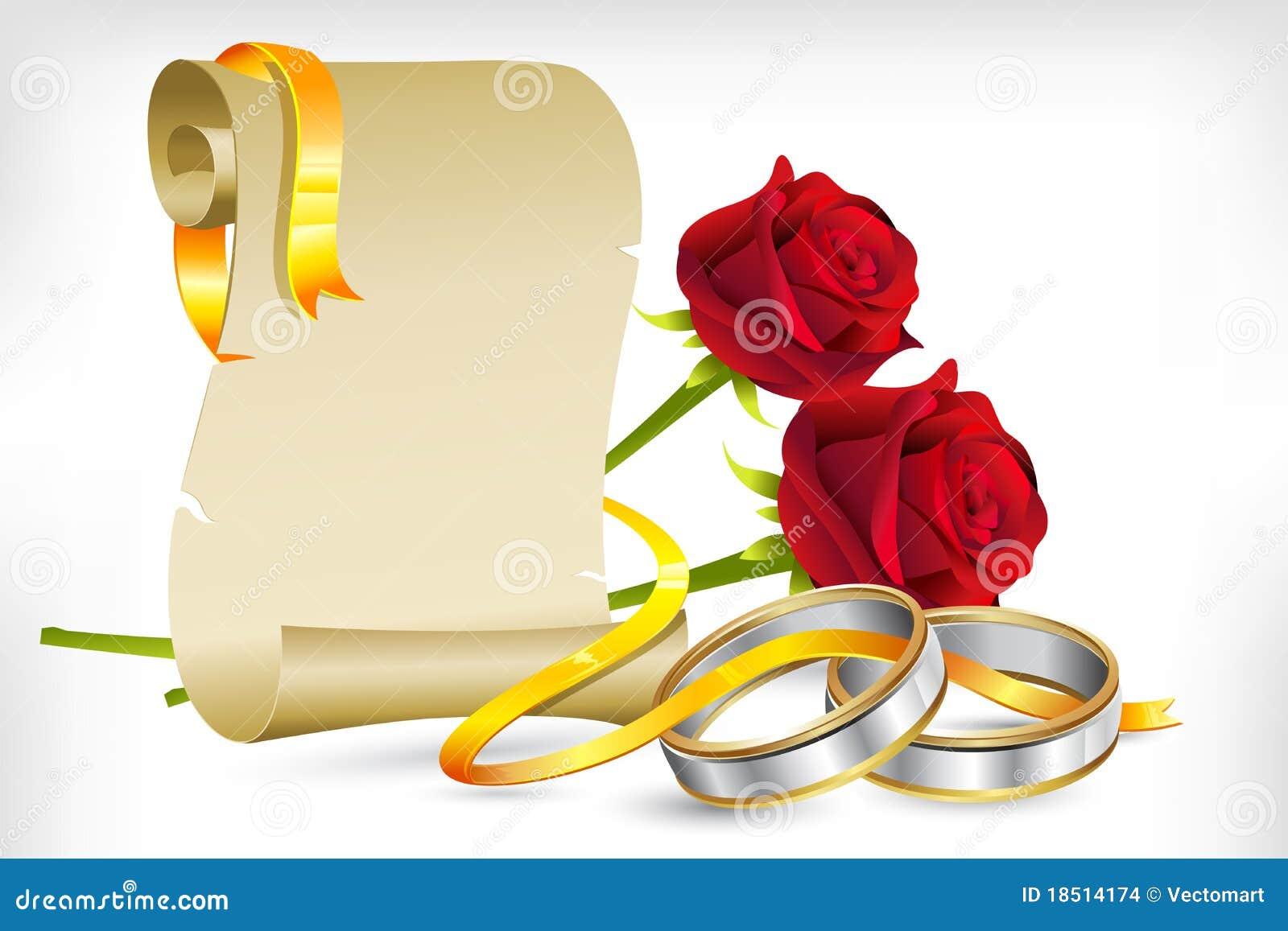 Scroll Rings Invitations
