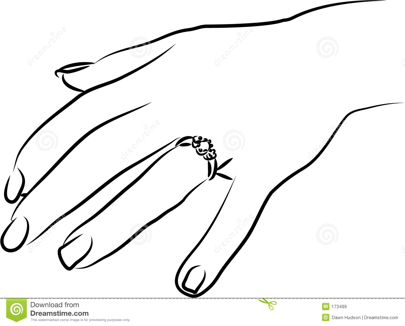 Engagement Ring Finger Clipart | Info