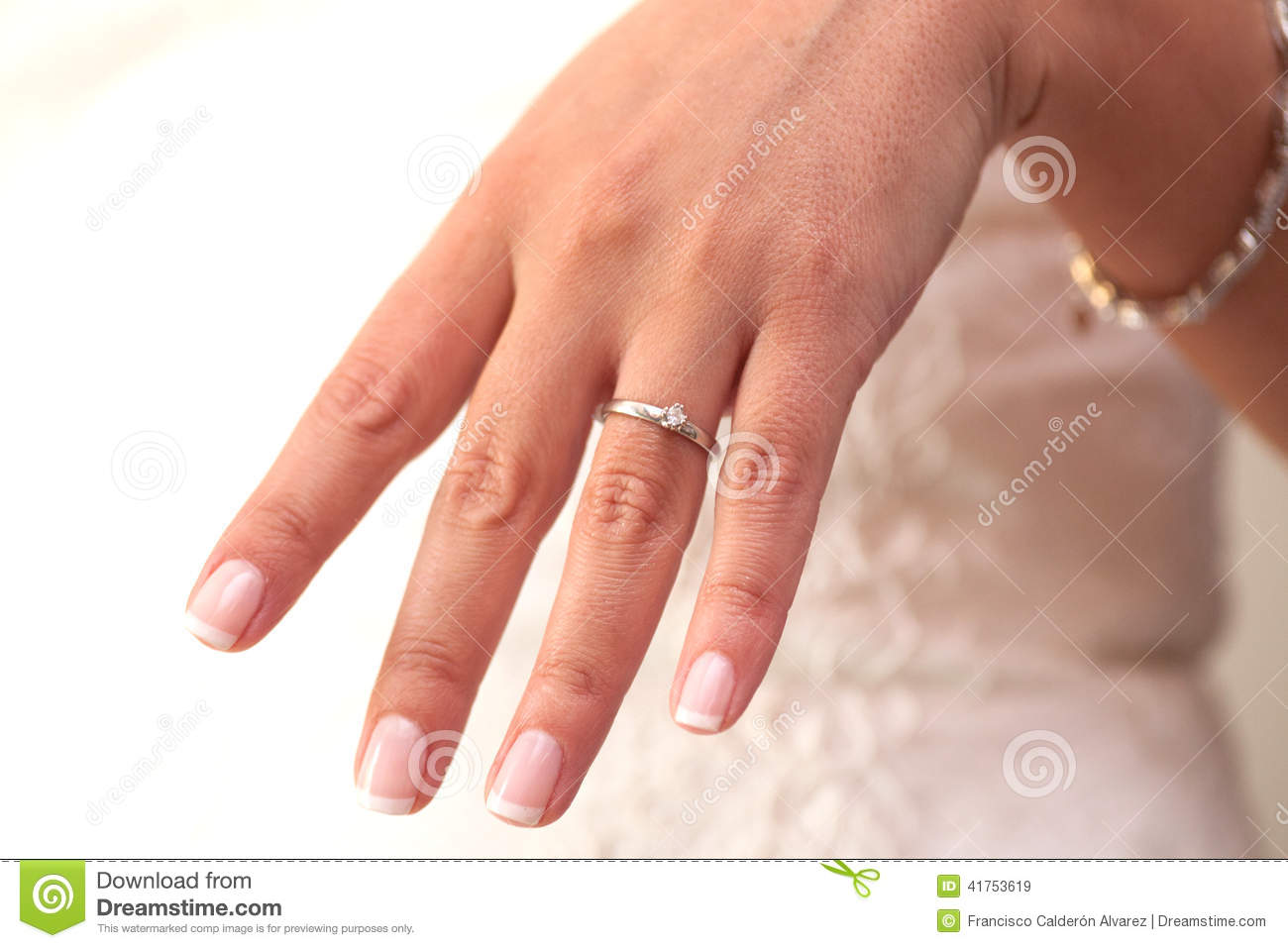 Ring Finger In French