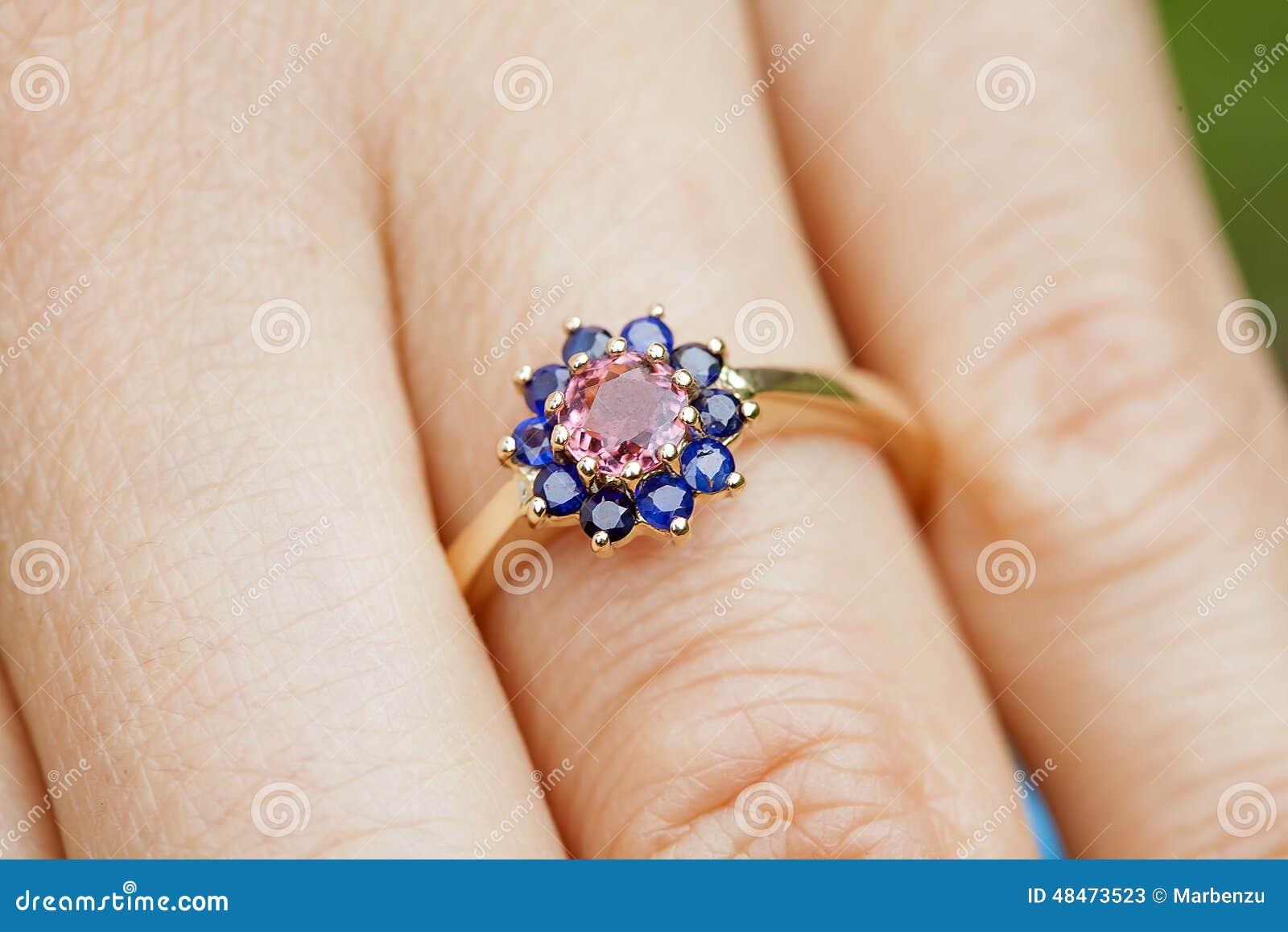 Engagement Ring Stock Photo Image 48473523