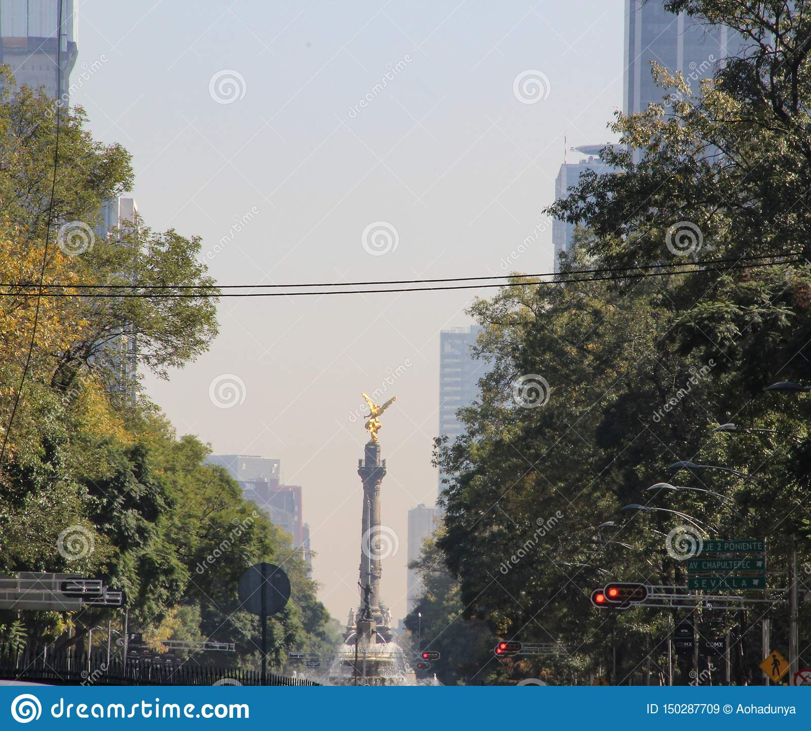 Engel van Onafhankelijkheid, Mexico-City, Mexico