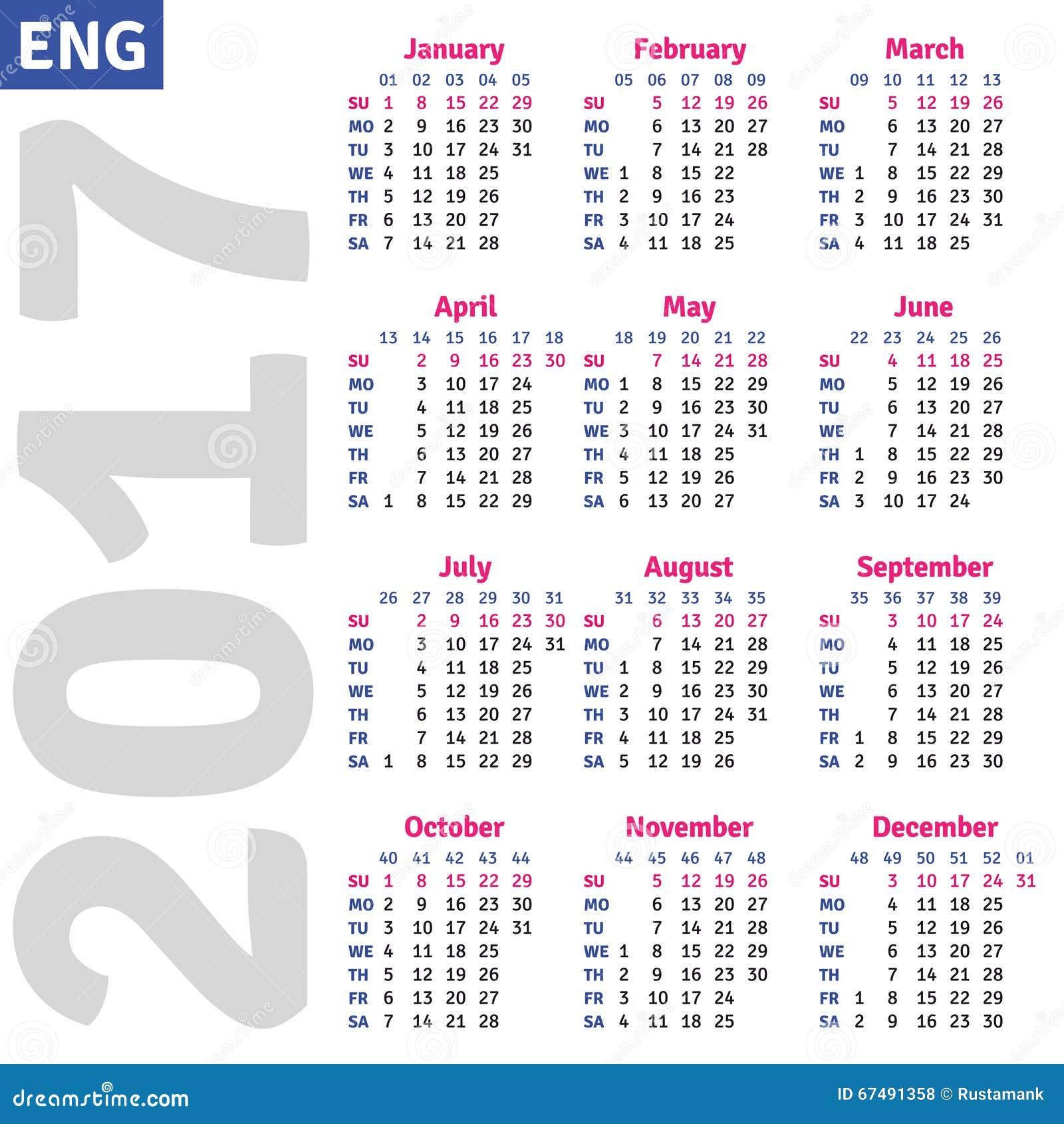 kalender 2018 med röda dagar