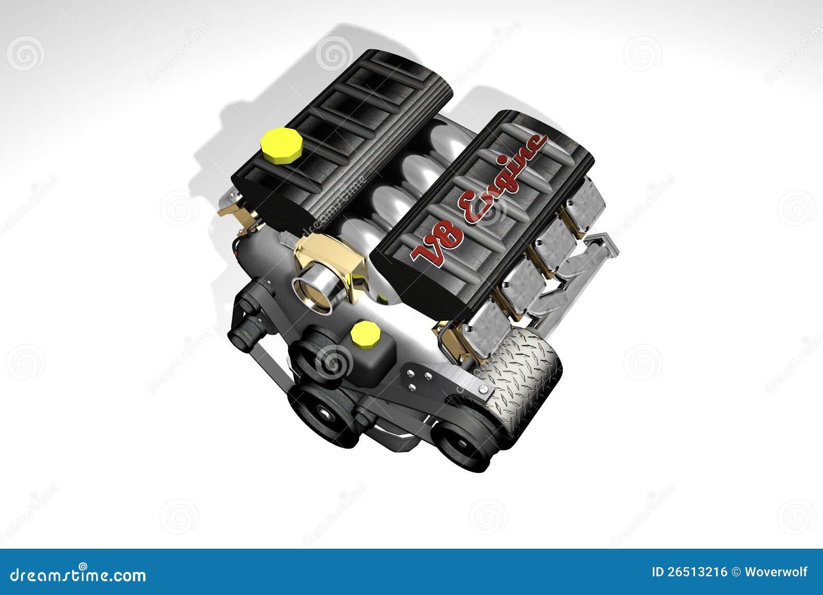 V8 Engine Clipart Engine car V8 Royalty Free