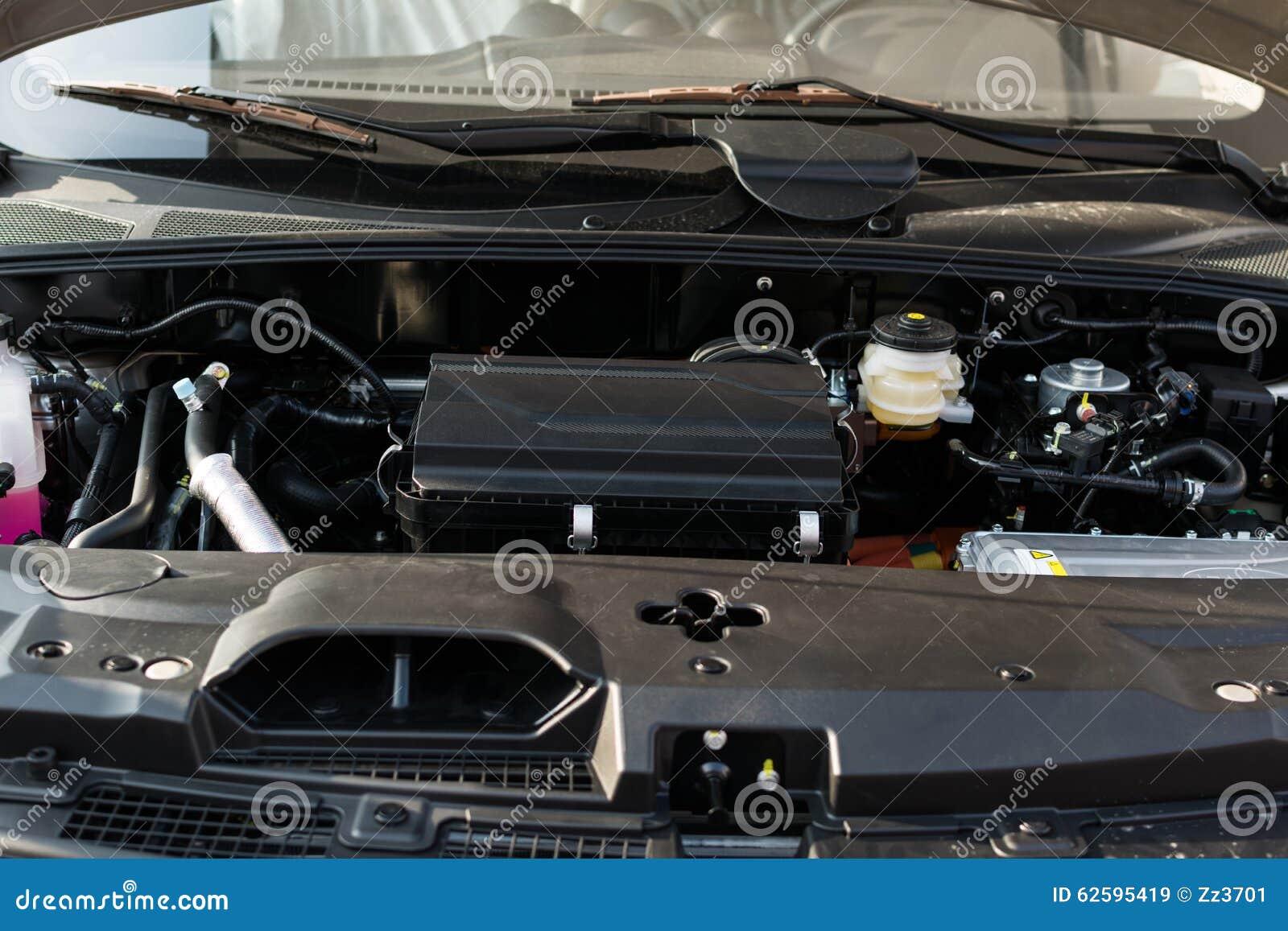 Engine Of Hybrid Vehicle Stock Photo Image 62595419