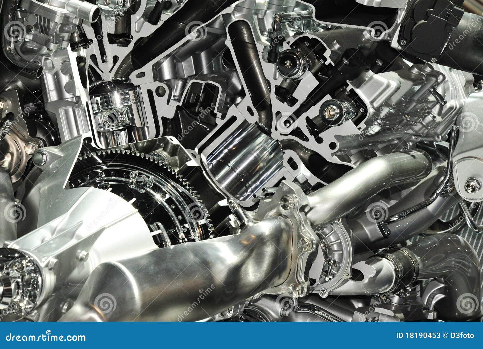 Engine Inside Stock Photos Image 18190453