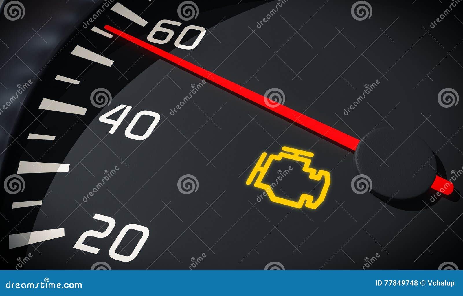 Dashboard symbols stock illustrations 156 dashboard symbols engine malfunction warning light control in car dashboard 3d rendered illustration close up view buycottarizona