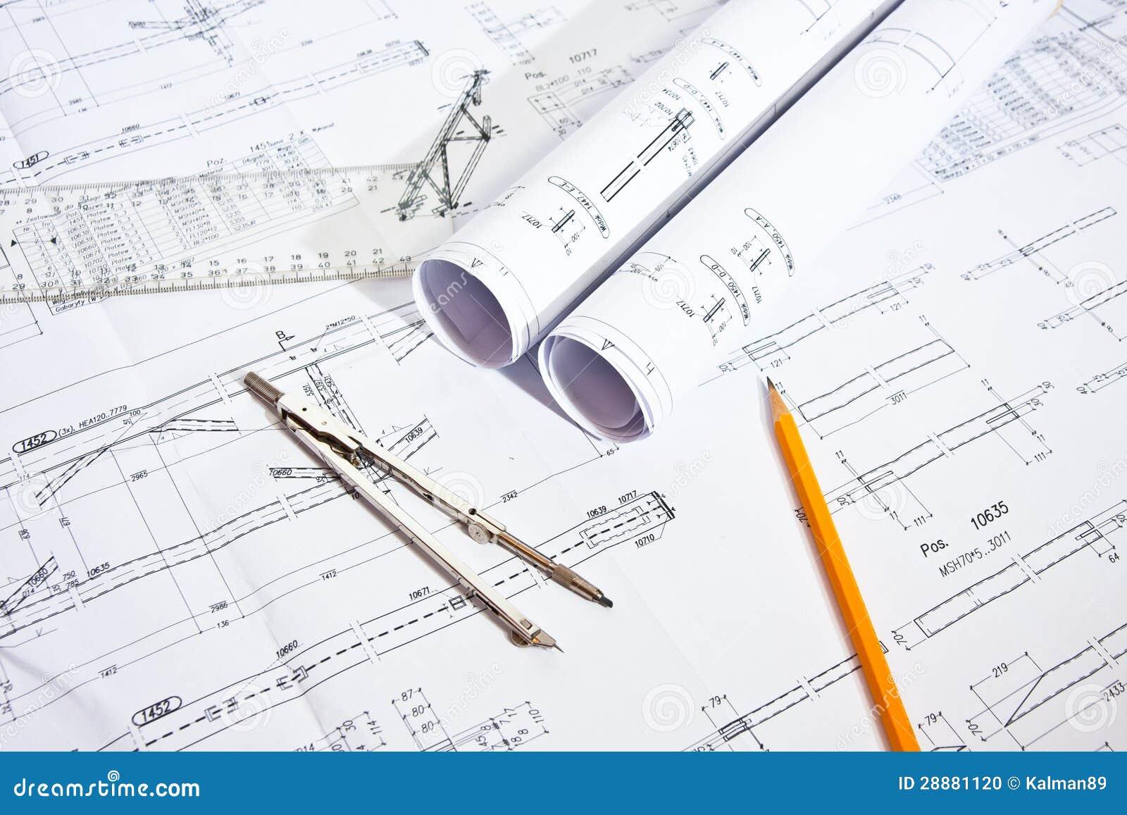 Engineer work space