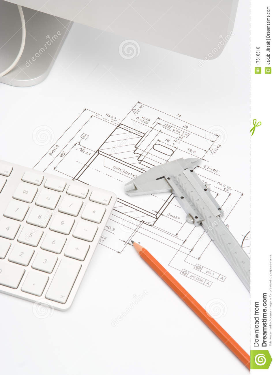 Engineering blueprints stock photo image 17618510 for Engineering blueprints