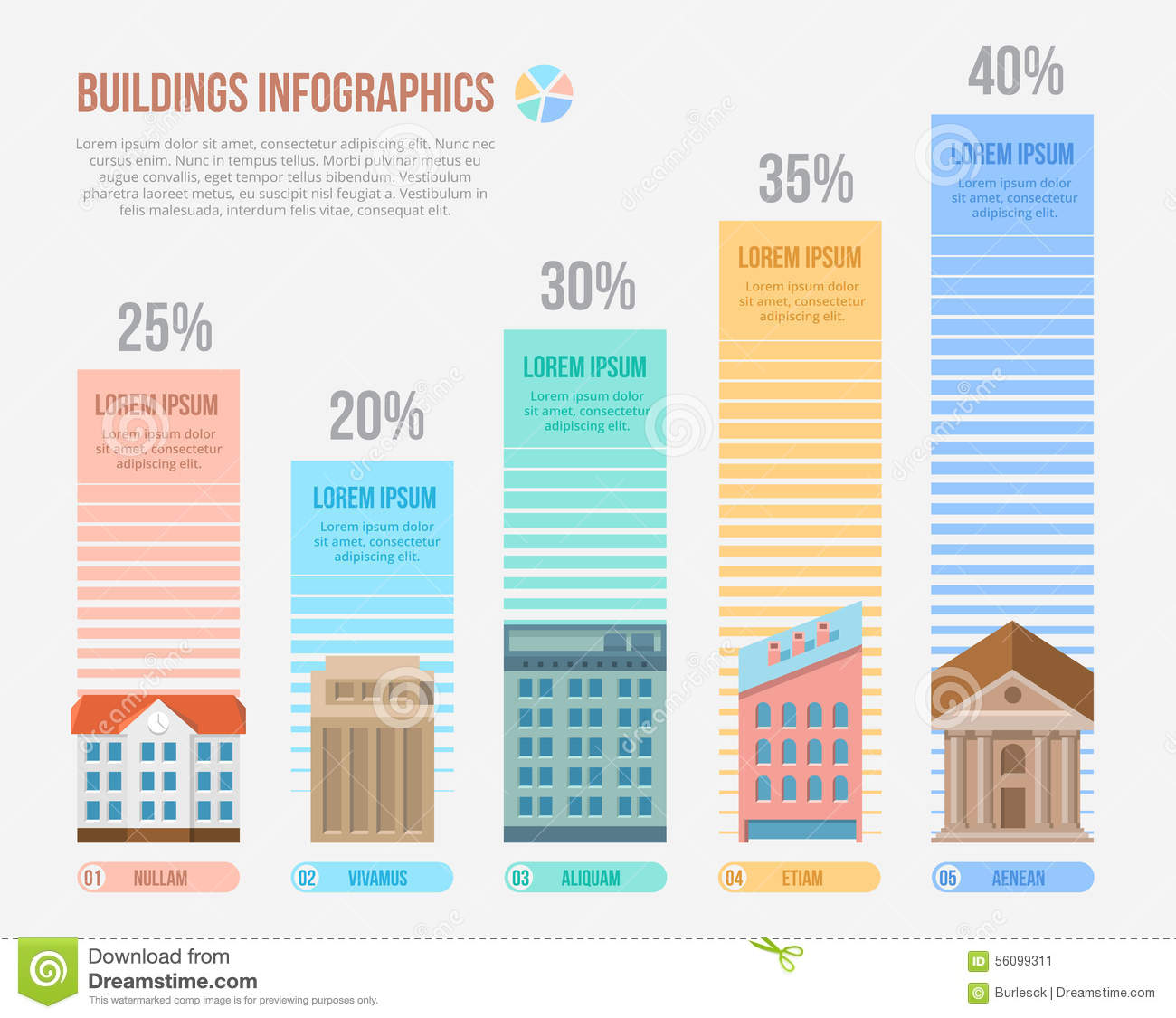 Engineering And Building Infographics Stock Vector Image