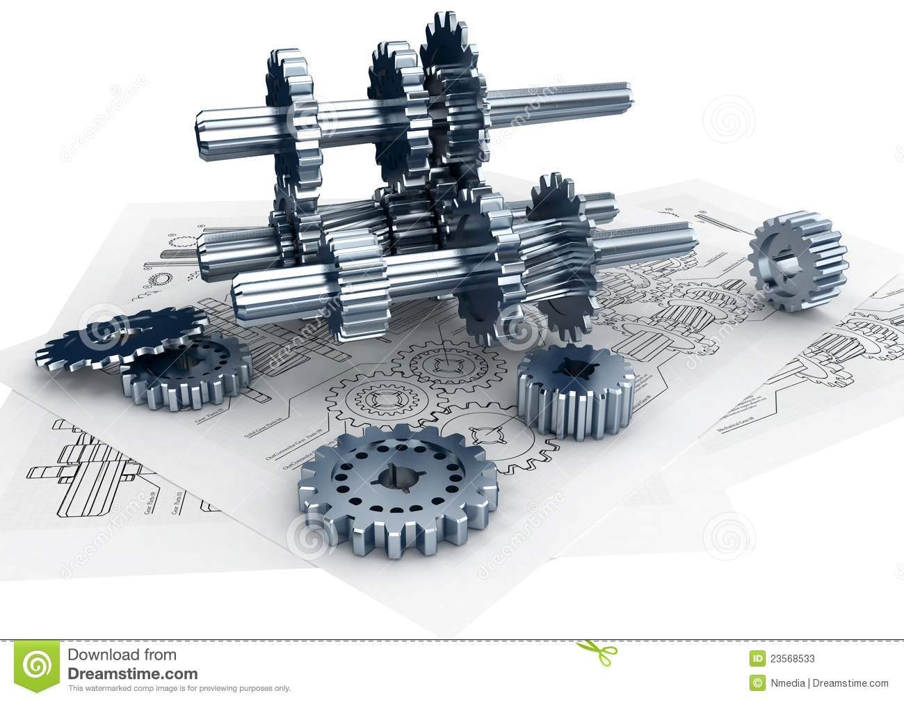 Engineering Concept stock illustration. Illustration of structure - 23568533