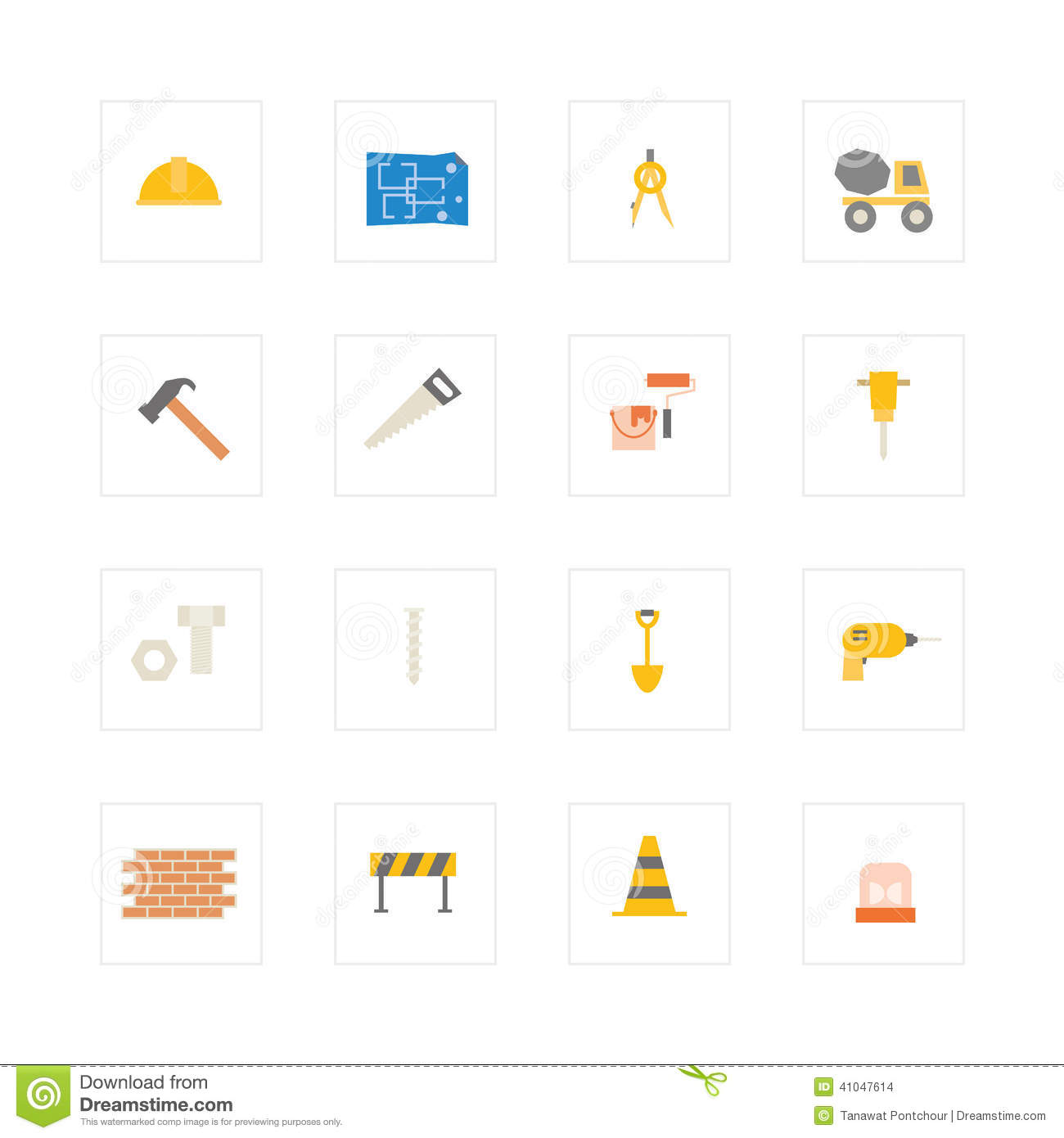 Engineering and construction icon set vector illustration design