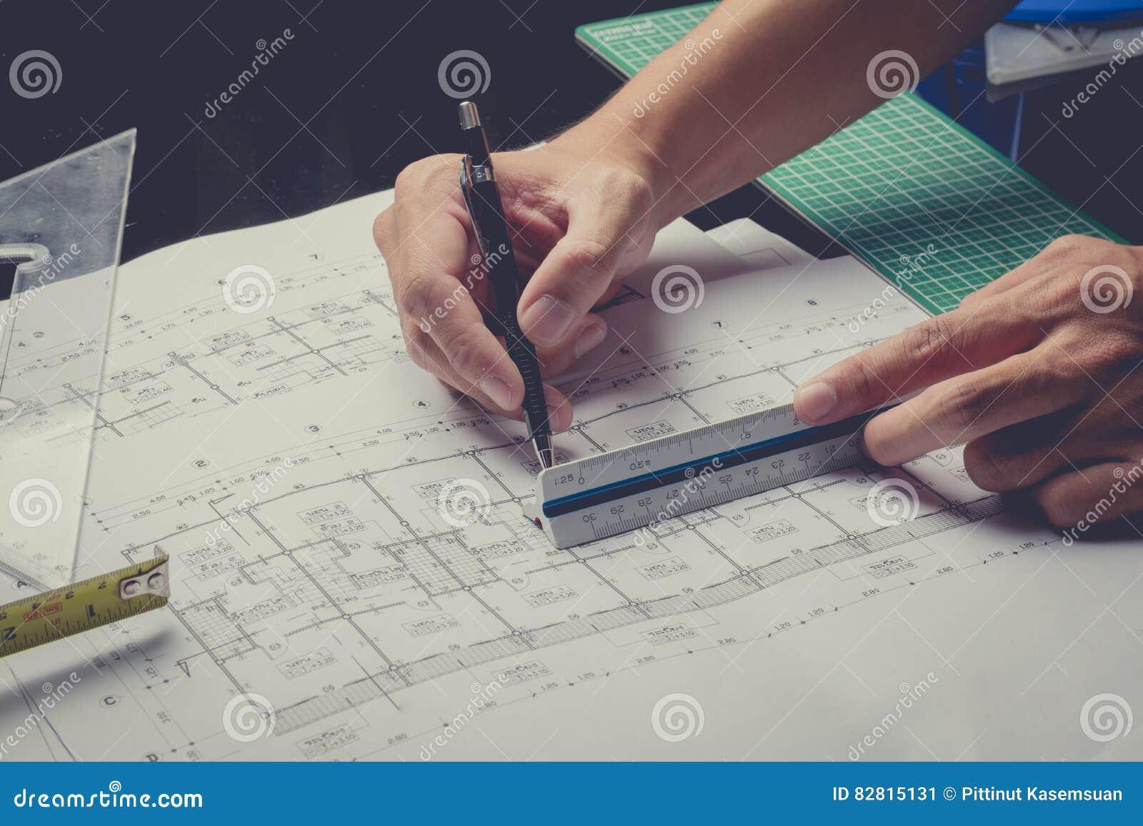 Engineering diagram blueprint paper drafting project stock image engineering diagram blueprint paper drafting project royalty free stock photo malvernweather Choice Image