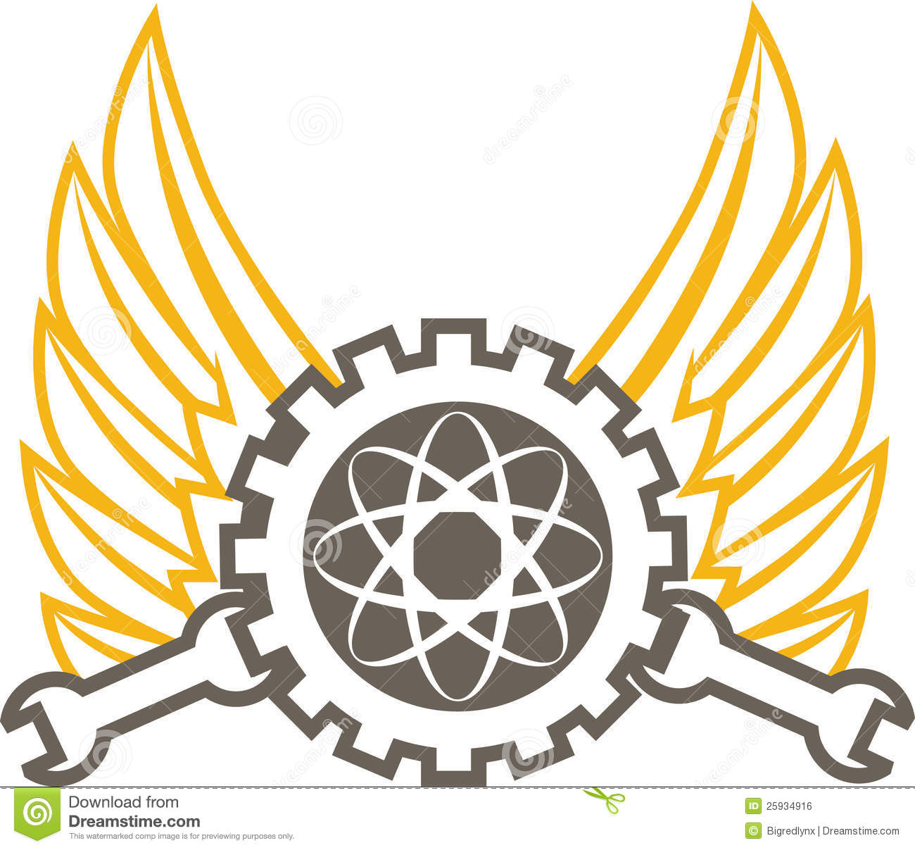 Engineering Emblem Royalty Free Stock Image - Image: 25934916