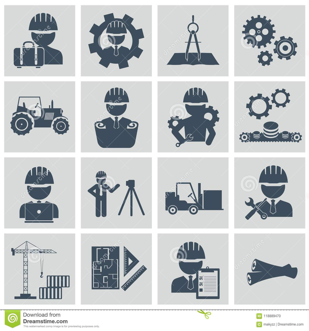 Factory Machine Operator Clipart Images