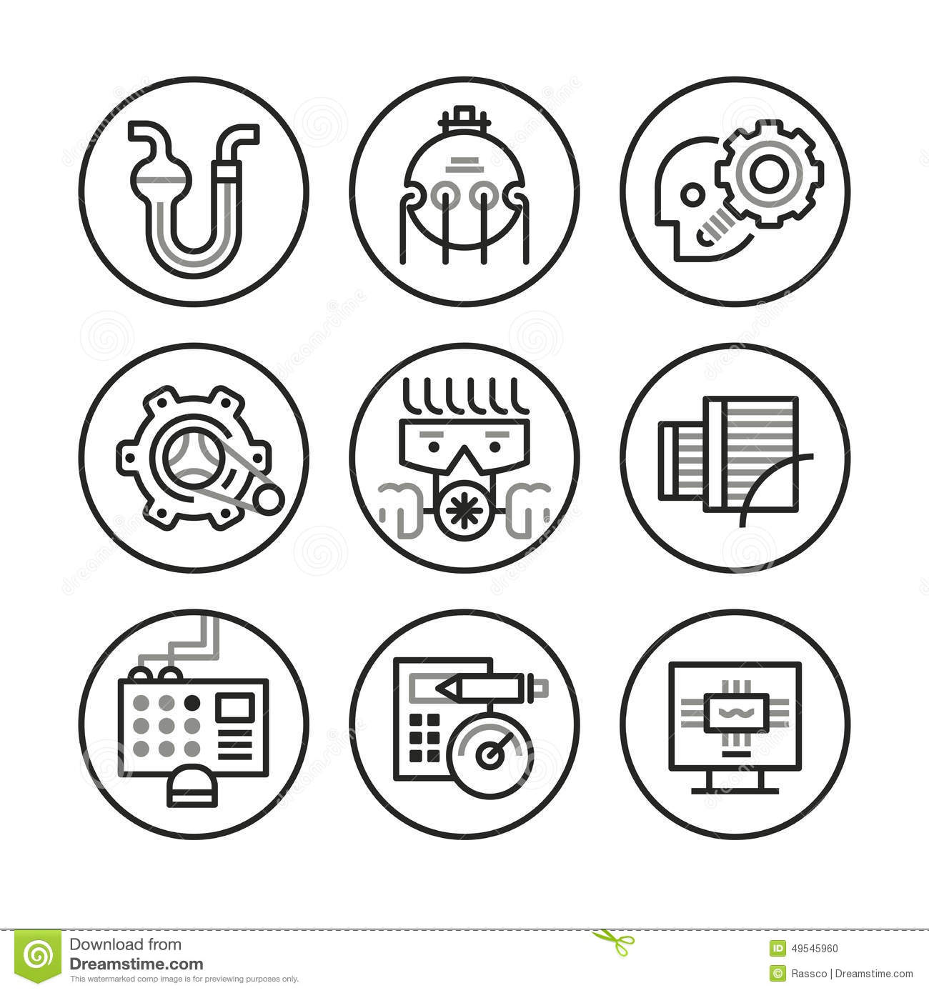 engineering icons modern style different disciplines such as chemical petroleum industrial technology mechanical computer 49545960 electrical wiring equipment 2 on electrical wiring equipment
