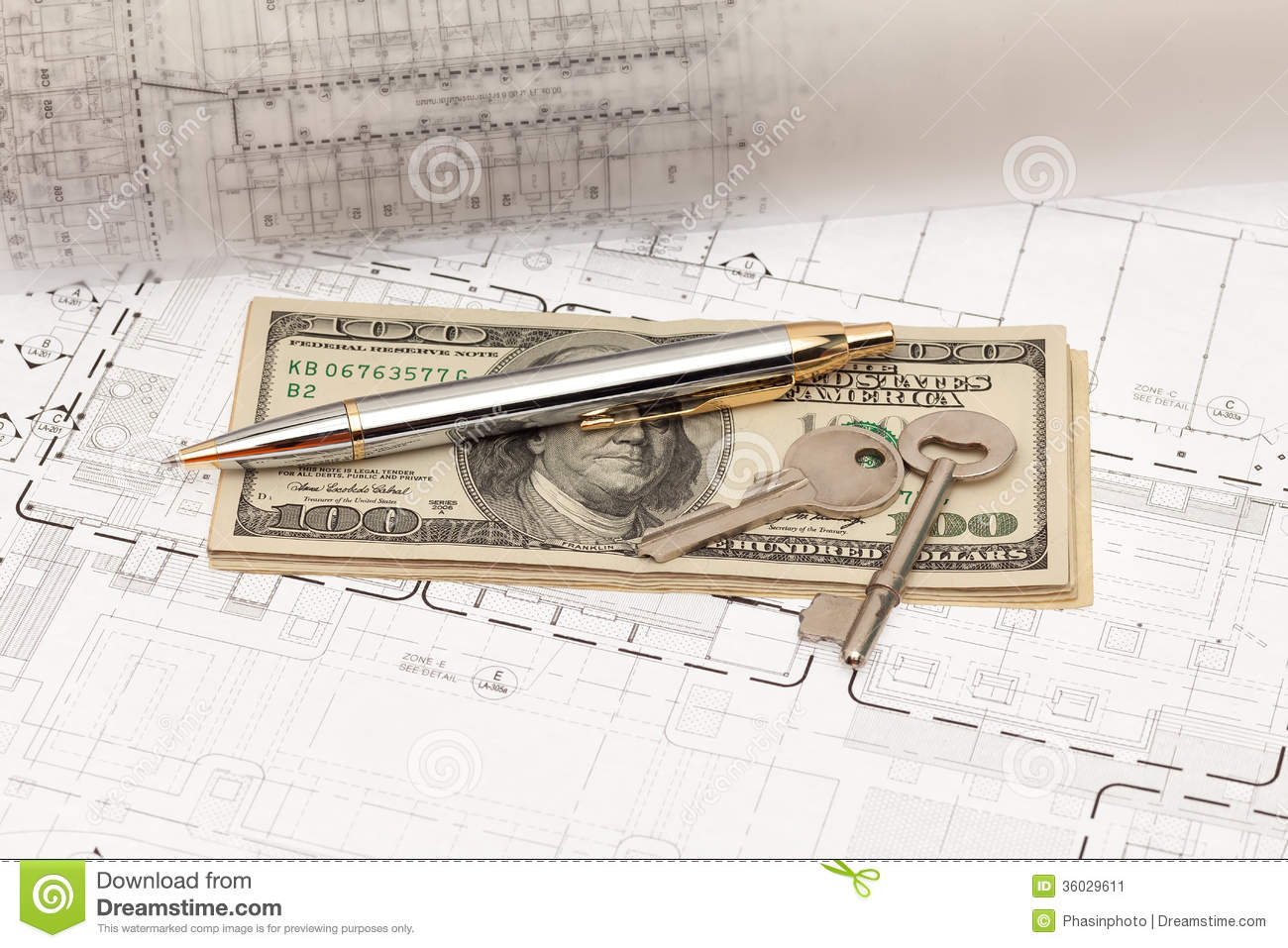 Engineering Project Stock Image Image Of Architecture