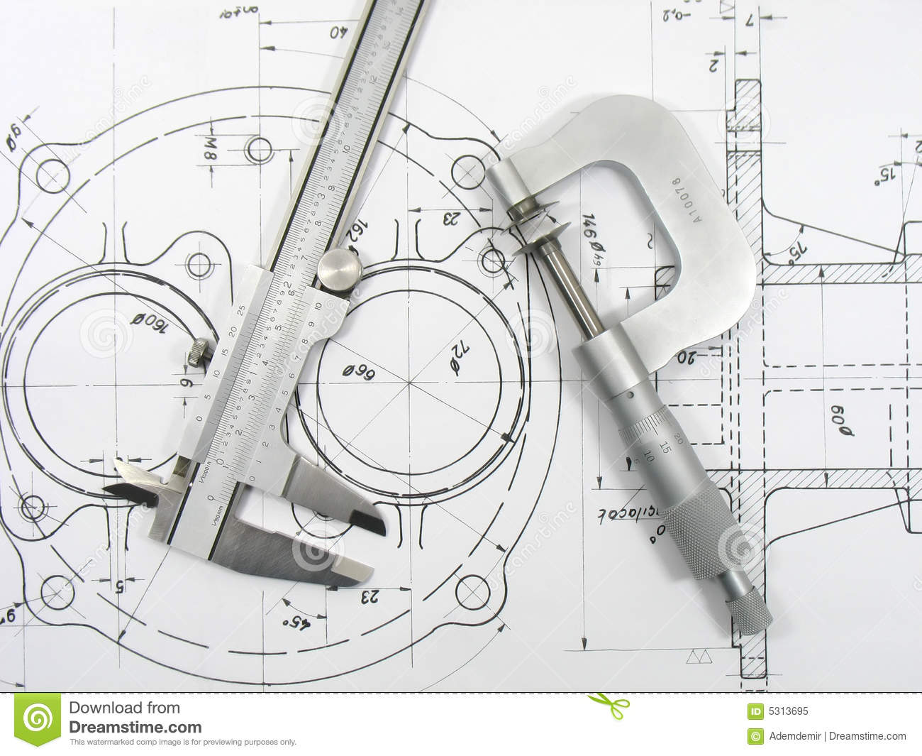 Structural Engineering Tool Box : Engineering tools royalty free stock photo image