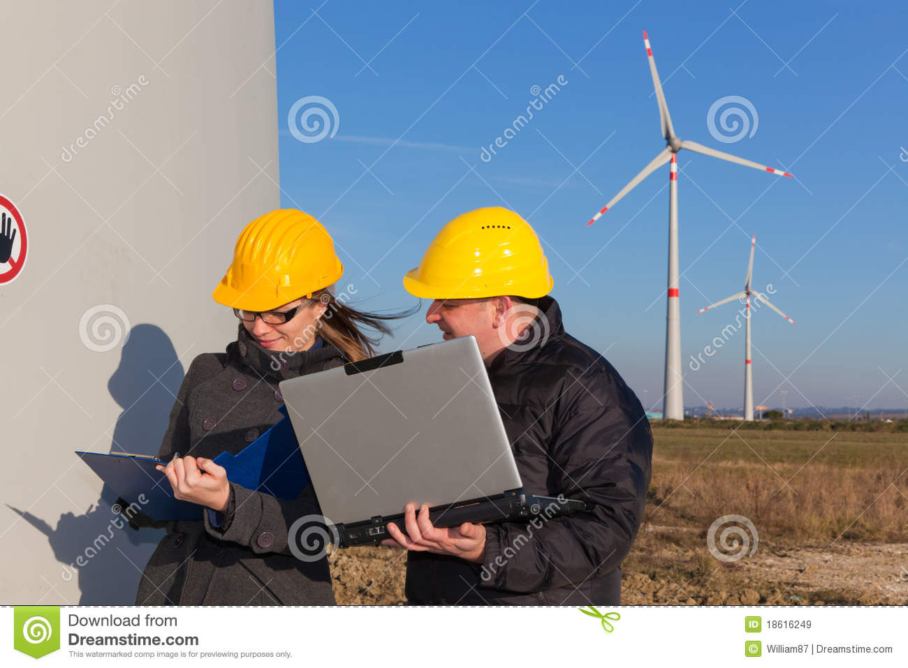 Engineers At Work Royalty Free Stock Images Image 18616249
