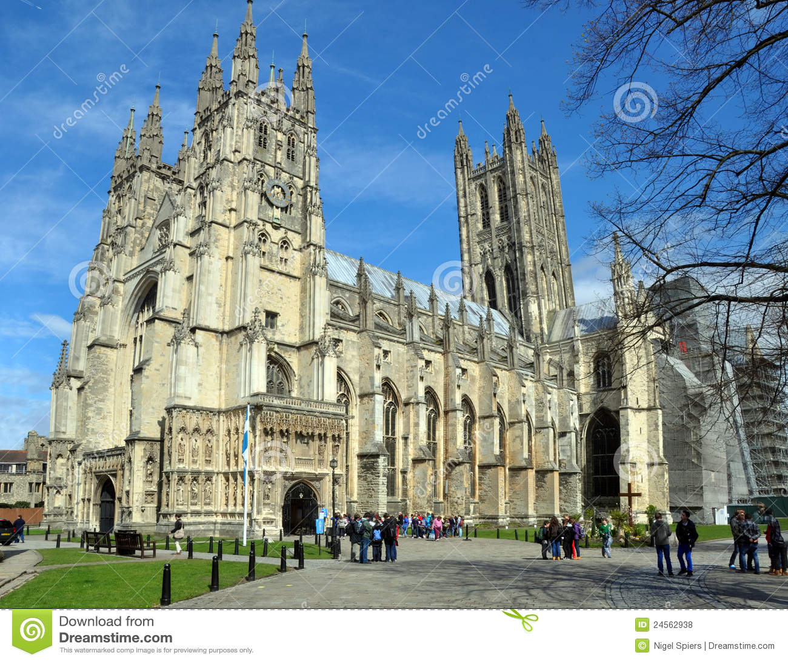 Canterbury United Kingdom  city images : Canterbury, United Kingdom April 20, 2012: Canterbury Anglican ...