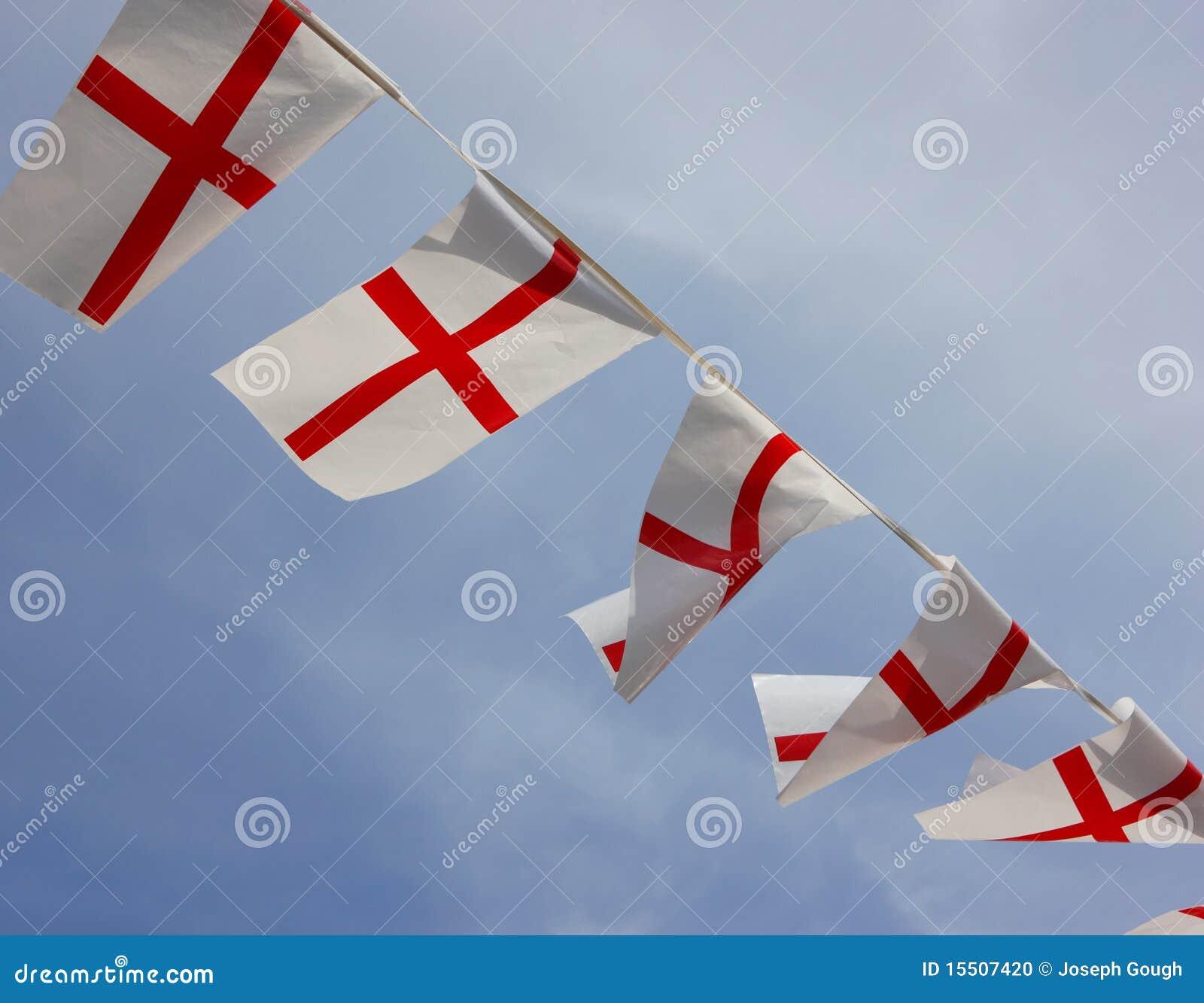 England-Flagge-Markierungsfahnen