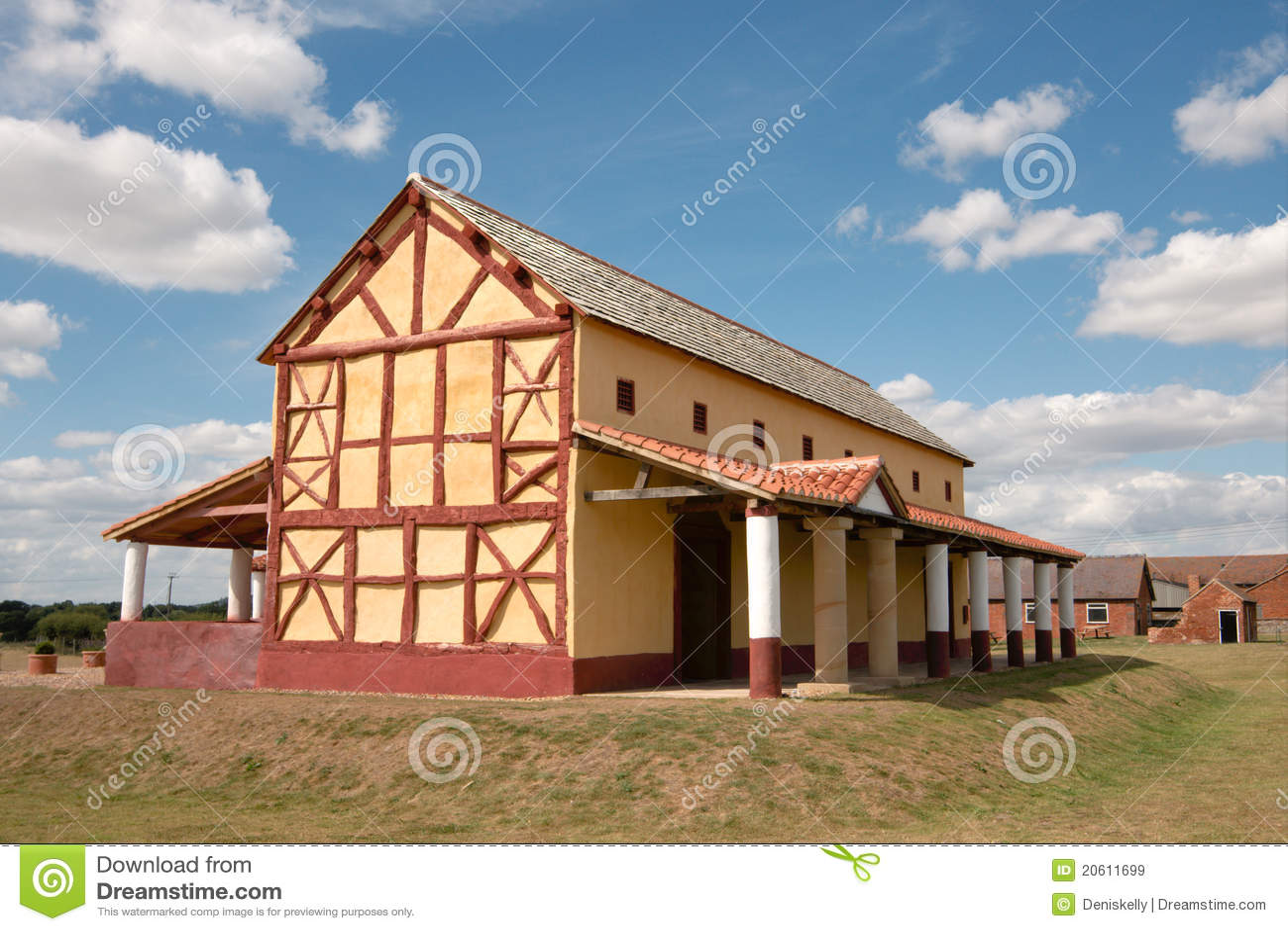 England miasteczko domowy rzymski