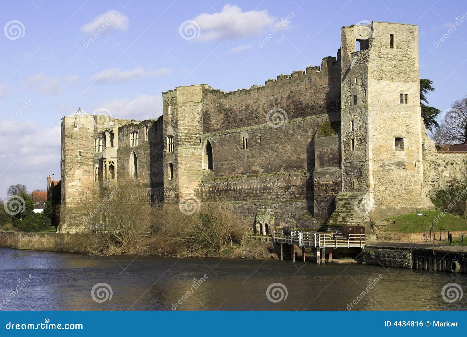 England Newark Nottinghamshire zamek