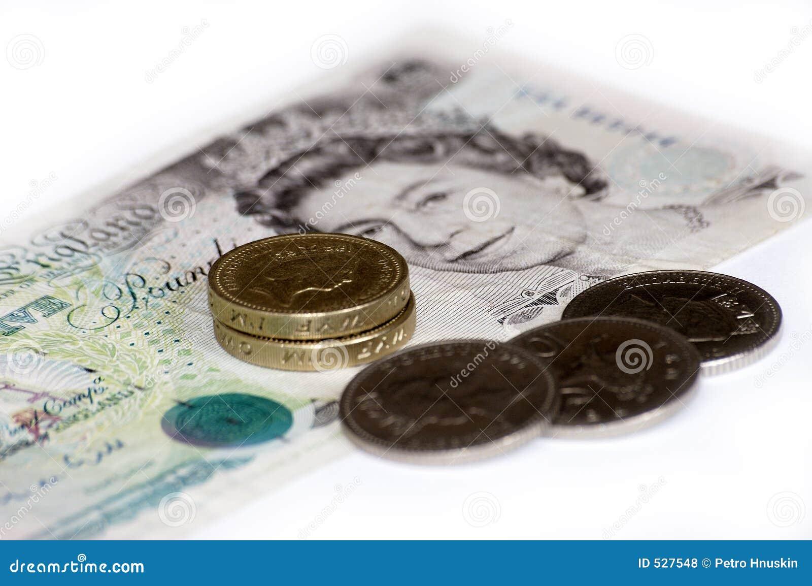 England pieniądze