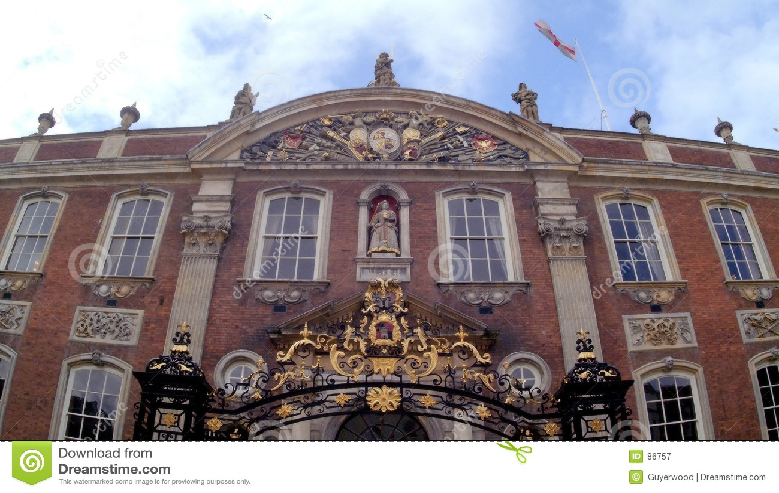 England ratusz Worcester