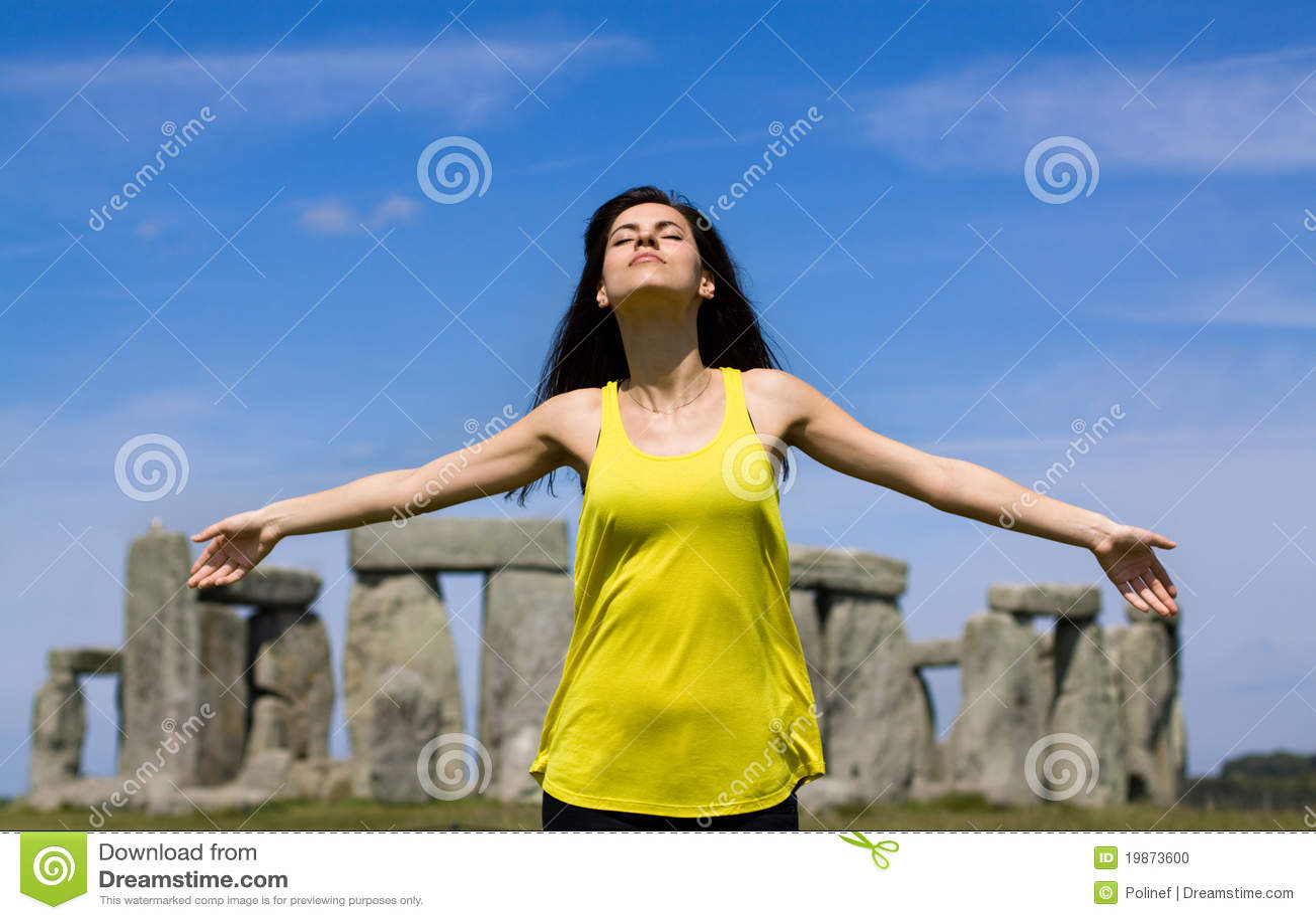 England stonehengekvinna