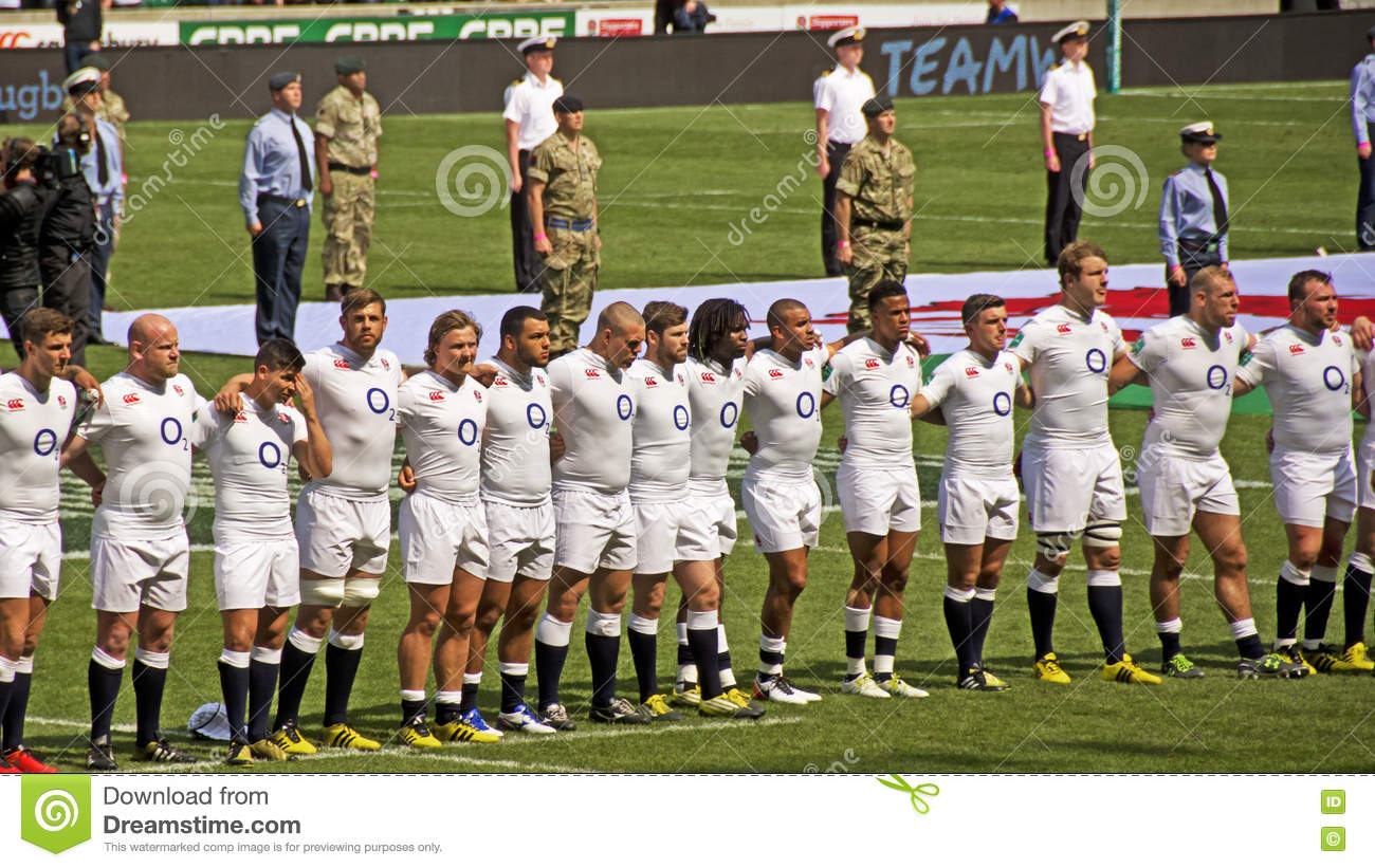 Rugby Union at Twickenham editorial stock image  Image of