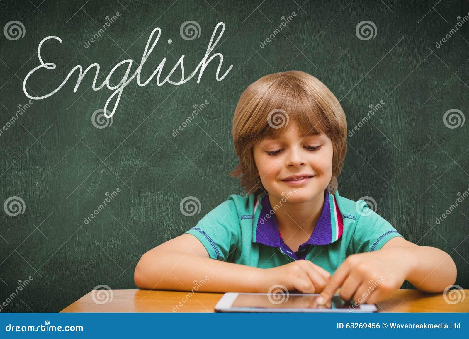 Englisch gegen grüne Tafel