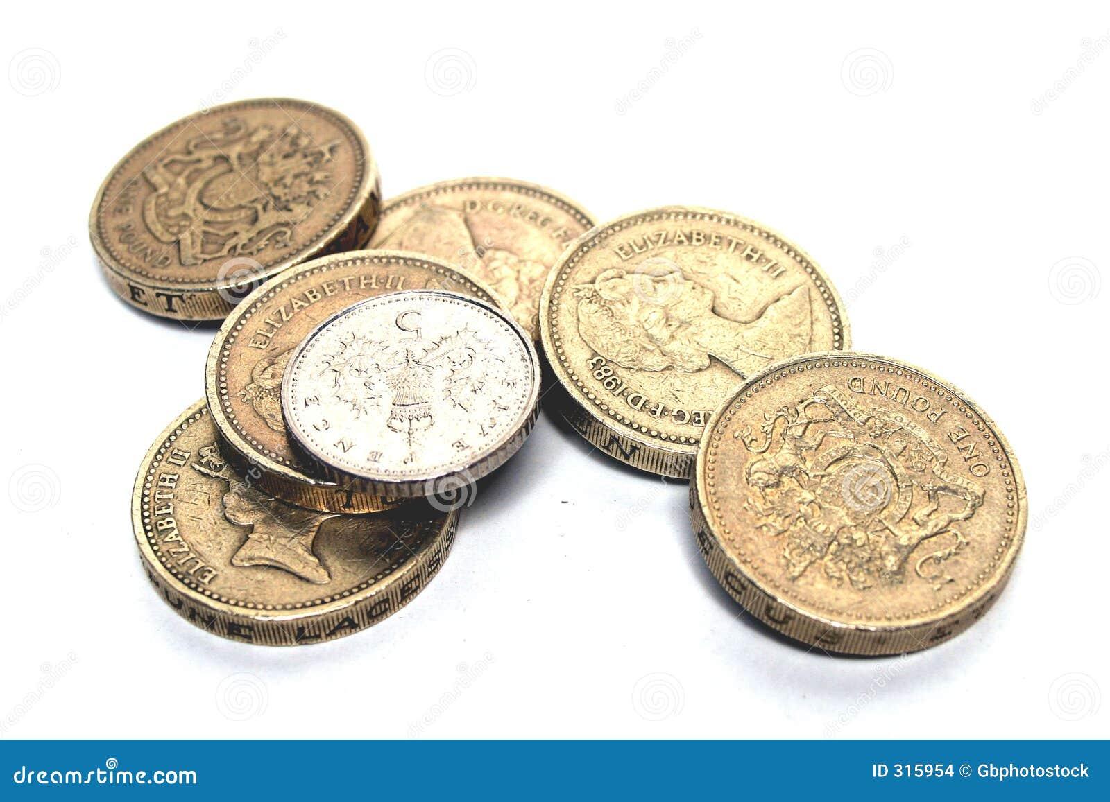 Englische Prägung Stockfoto Bild Von Pennies Münzen Prägung 315954