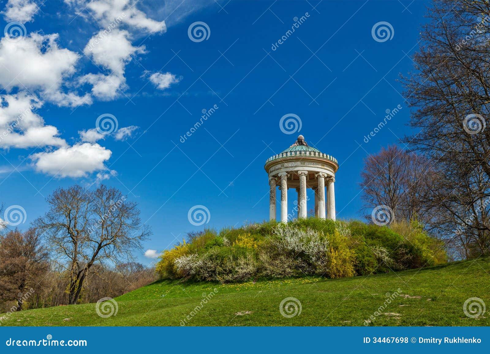 Englischer Garten. München, Deutschland Lizenzfreie Stockfotos - Bild: 34467698