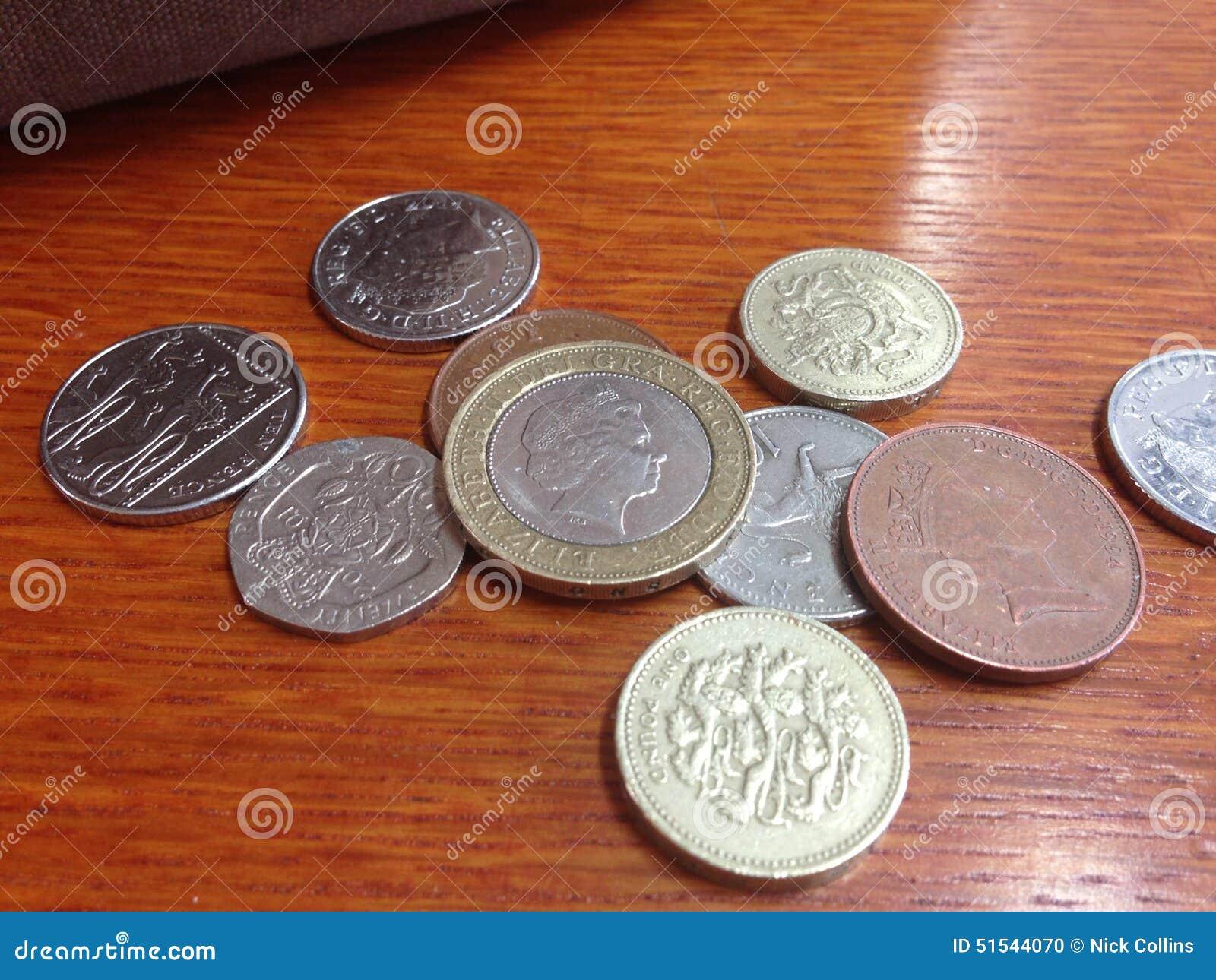 Englisches Geld Britische Münzen Stock Photos 3 Images