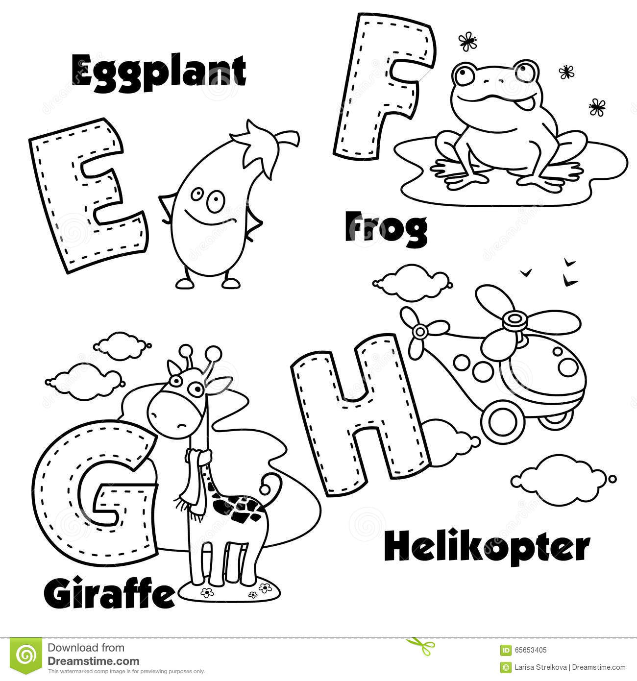 English Alphabet Coloring Pages : Printable coloring pages of english letters