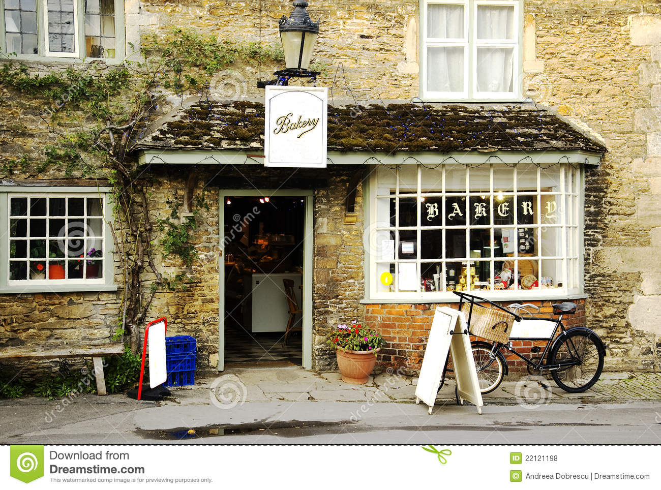 Royalty Free Stock Photos English Bakery Image22121198 on Old English Cottage Plans
