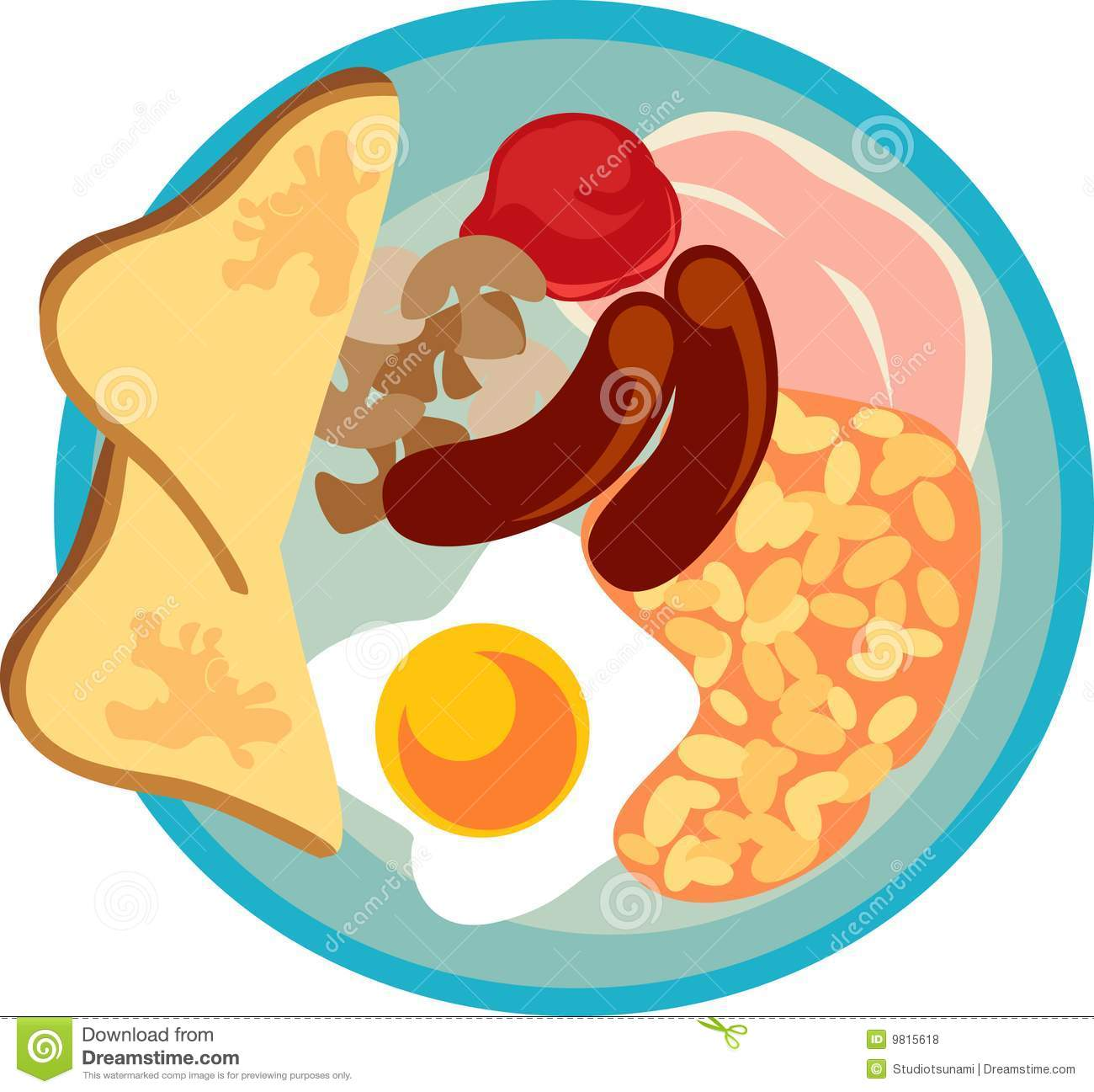 English Breakfast Royalty Free Stock Photos - Image: 9815618
