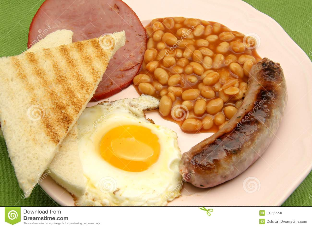 English Breakfast Royalty Free Stock Photos - Image: 31595558